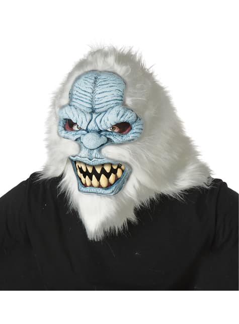 Yeti ani-motion mask for adults