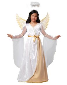 Disfraz de ángel de la guarda para niña