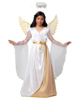Fato de anjo da guarda para menina