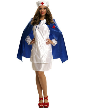Fato de enfermeira vintage para mulher