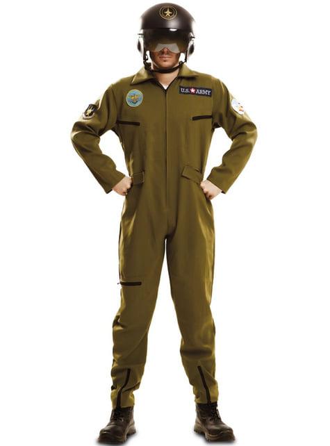 Fato de aviador Gun para homem