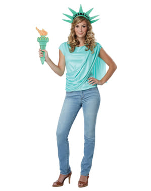 Statue of Liberty costume kit for women