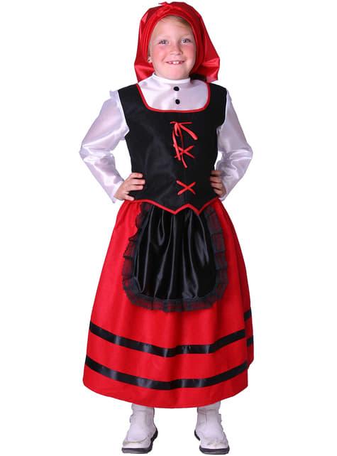 Shepherdress Kids Costume