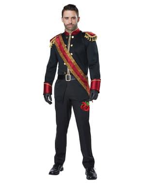男性のための完璧な王子様の衣装