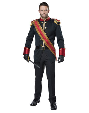 Costum de prinț albastru marin pentru bărbat