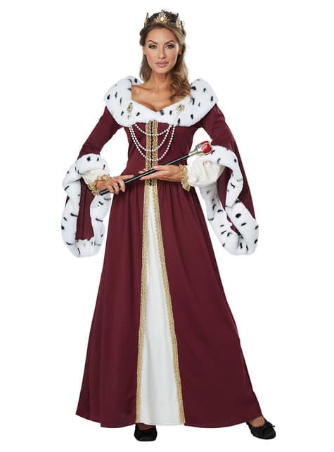 Disfraz de reina majestuosa para mujer