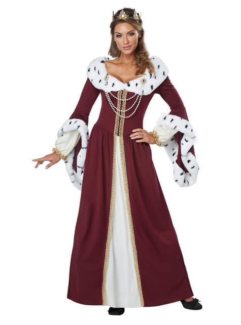 Disfraz de reina majestuosa para mujer - mujer
