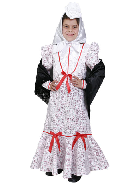 Madrid Girl Kids Costume