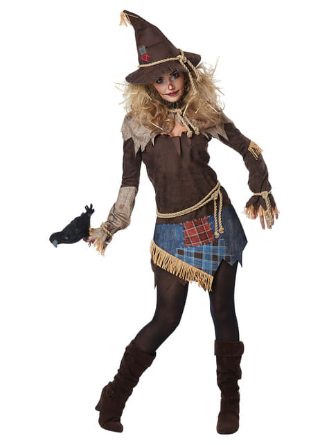 Sinister scarecrow costume for women