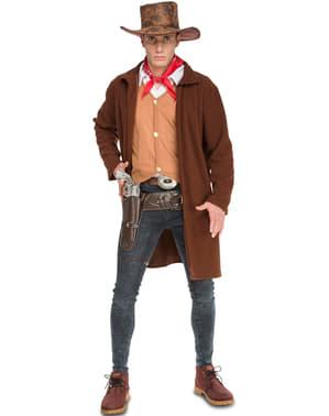 Skydegal cowboy kostume til mænd