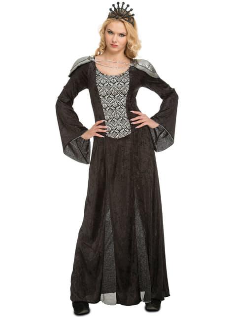 Disfraz de reina tenebrosa para mujer