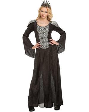 Finstere Königin-Kostüm für Damen