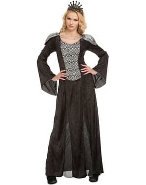 Huiveringwekkend koningin kostuum voor vrouw