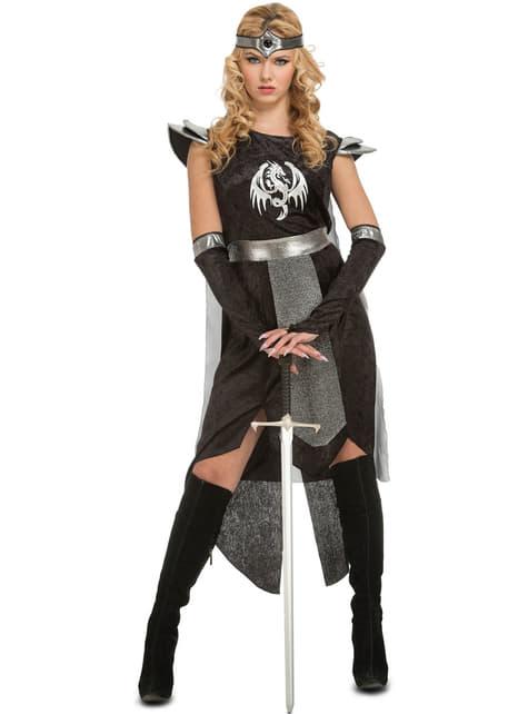 Fato de guerreira de dragões para mulher