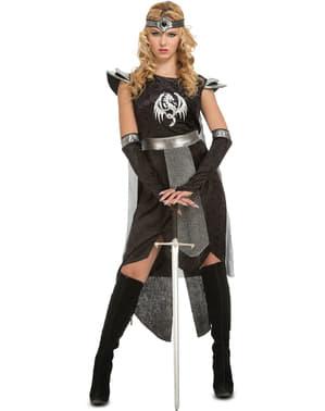 Disfraz de guerrera de dragones para mujer