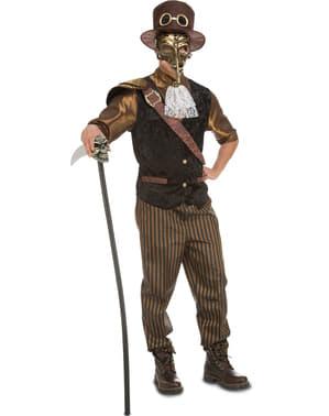Steampunk venetianer kostume til mænd