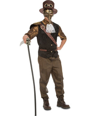 Ventiaans Steampunk kostuum voor mannen