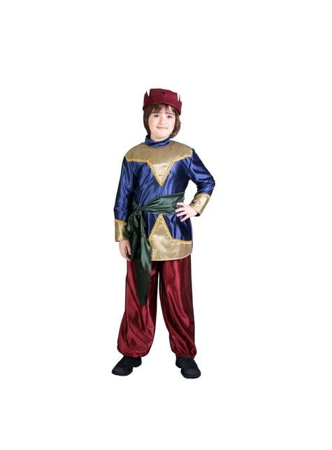 Chlapecký kostým sloužící u šlechty