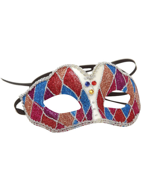 Adults Harlequin pattern Eye mask