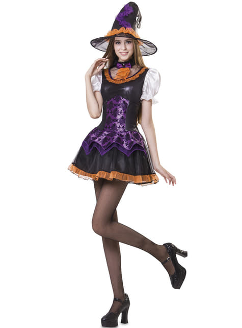 Disfraz de bruja inocente para mujer