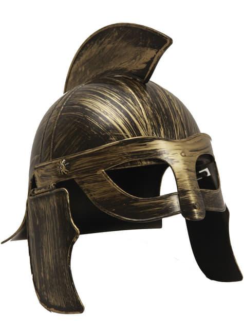 Casco de guerrero romano para adulto