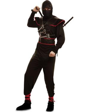 Draps Ninja Kostyme for Menn