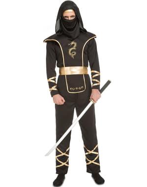 Costume da ninja astuto per uomo