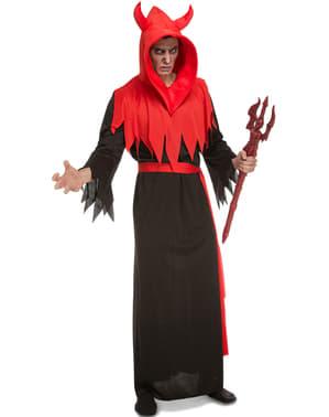 Duivels kostuum schrikwekkend voor mannen