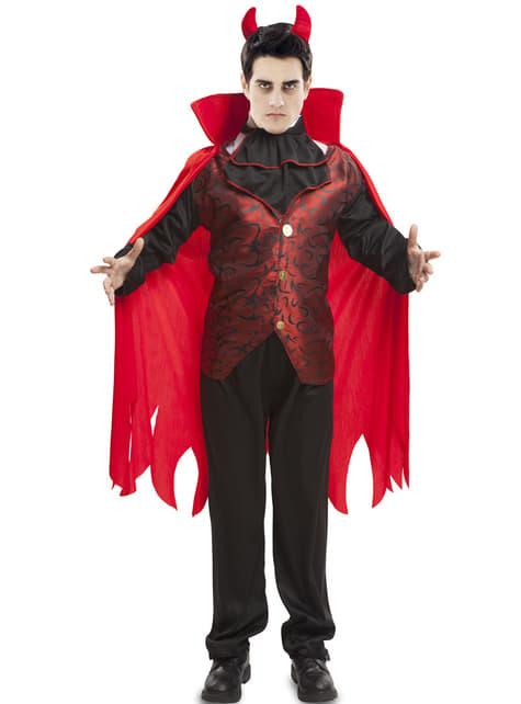 Disfraz de vampiro diablesco para hombre