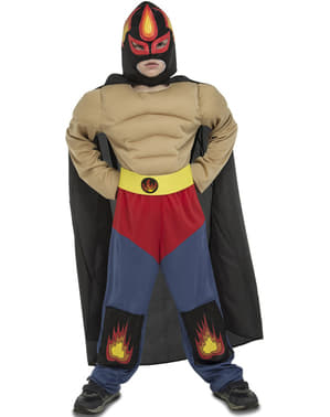 Boy's Mexican Fighter Costume