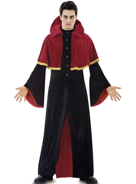 Disfraz de vampiro religioso para hombre