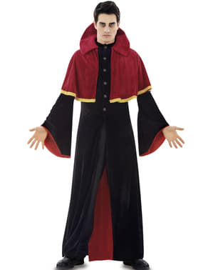 A Religious Vampire Costume for Men