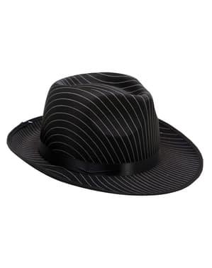 Chapeau gangster élégant adulte