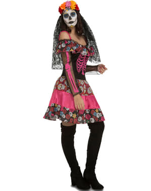 La Catrina Skeleton Costume for Women