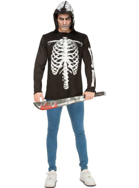 Men's Casual Skeleton Costume