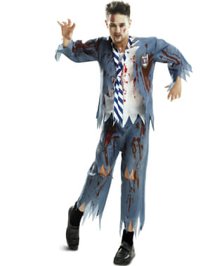 Disfraz de estudiante zombie para hombre