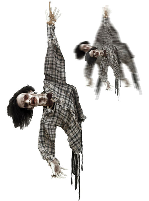 Hanging Zombie That Moves