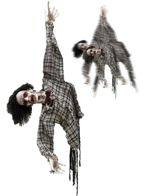 Zombie pingente animado