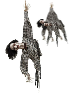Závěsná dekorace pohybující se zombie