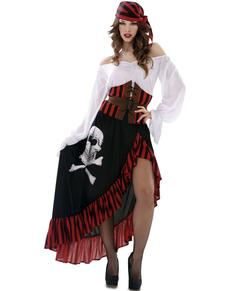 38d3f8bd4d00 Disfraz de pirata calavera para mujer