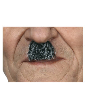 Men's Grey German Dictator Moustache