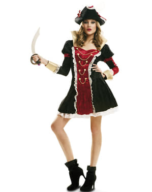 Women's Royalty Pirate Costume