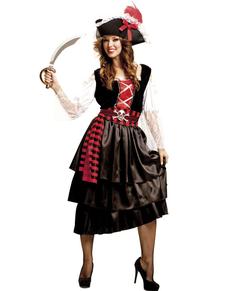 c536cd9b04 Disfraz de pirata recatada para mujer