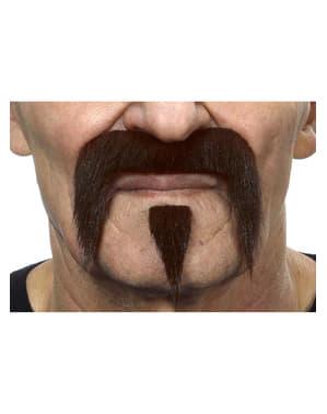 Samurai overskæg til mænd