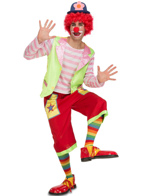 Disfraz de payaso de circo para hombre