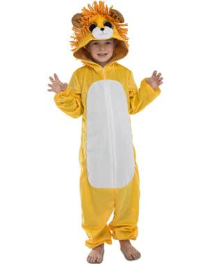 Déguisement adorable lion enfant