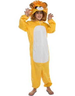 Disfraz de león adorable infantil