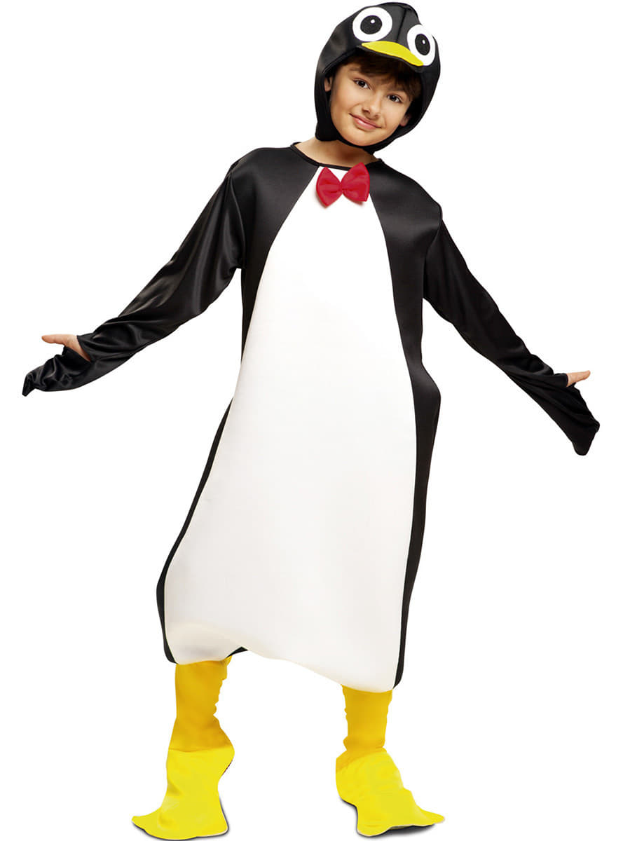 lustiges pinguin kost m f r kinder funidelia. Black Bedroom Furniture Sets. Home Design Ideas