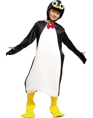 Costum de pinguin amuzant pentru copii