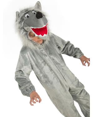 아이들 모피 늑대 의상